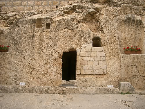 "AND THEY FOUND THE STONE ROLLED AWAY FROM THE TOMB,"" LUKE 24:2 ..."