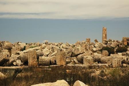 Greek Ruins by Greg Robbins