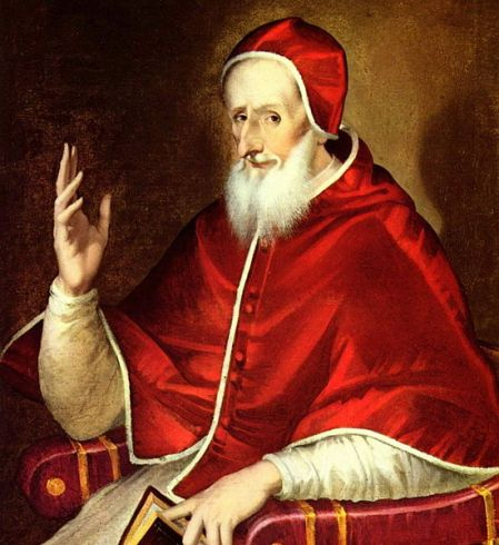 Pope Pius V Photo by Wikimedia Commons