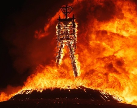 The burning man festival 2013