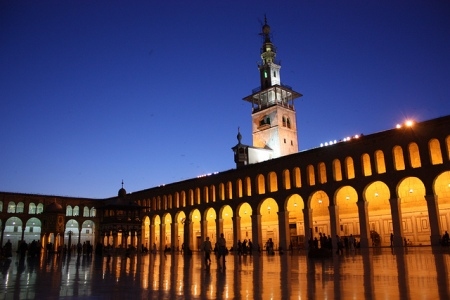 Damascus, Umayyad Mosque http://www.flickr.com/photos/azwegers/