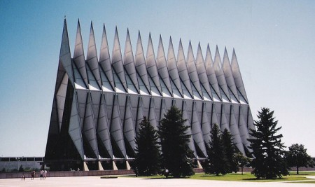 Air Force Academy Chapel, Colorado Springs, Colorado Photo by dbking