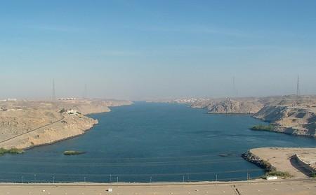 Aswan Dam by MiqsPix