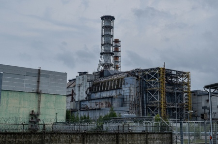 Chernobyl Reactor 4 Photo by Alex Kuhnl