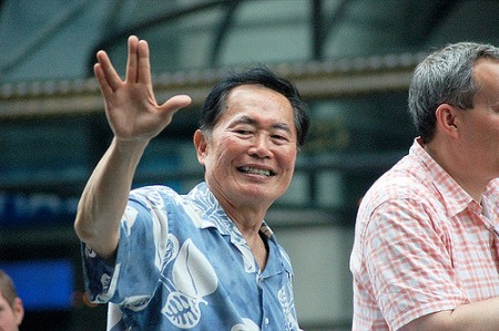 George Takei Actor who played Sulu, helmsman of Star Trek's USS Enterprise Photo by Max Talbot-Minkin