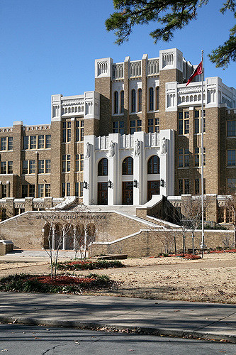 Historic Little Rock Central High School Photo by Cliff