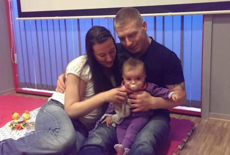 Ken, Vibeke, and Baby Aria